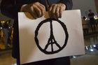 Hong Kong France Paris Attacks