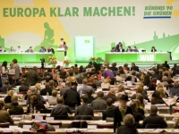 DEU Europa Wahl Gruene Parteitag