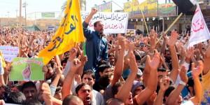Iraqi Sunni protest in Fallujah