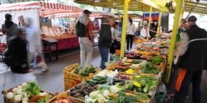Wochenmarkt in Hamburg