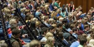 DEU Deutschland Münster 08 10 2014 Westfälische Wilhelms Universität WWU Begrüßung der Erst