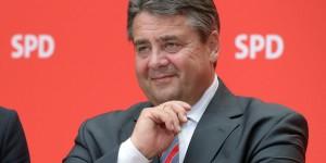 Parteikonvent der SPD - Pk Gabriel