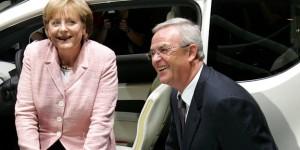 Angela Merkel, Martin Winterkorn