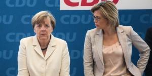 Angela Merkel und Julia Klöckner