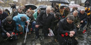 Ukrainians mark the second anniversary of the Euromaidan Revoluti