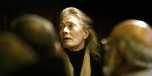 BRITAIN'S REDGRAVE LOOKS ON DURING LAUNCH OF GUANTANAMO HUMAN RIGHTS COMMISSION IN LONDON
