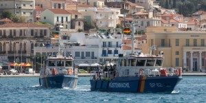 Bundespolizei unterstützt Frontex-Einsatz vor Samos